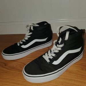 Shoes - Women's high top Vans, size 6